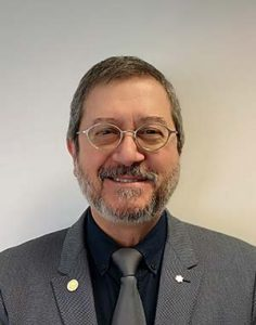 A photograph of Dr Eduardo Franco, an investigator of the infection's node from McGill University.