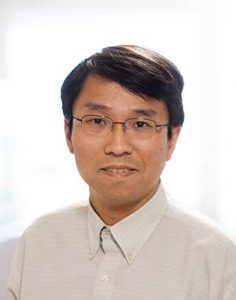 A photograph of Dr Yibing Ruan, a project staff member of the lifestyle node from Alberta Health Services.